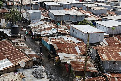 City of Slums, Nairobi, Kenia