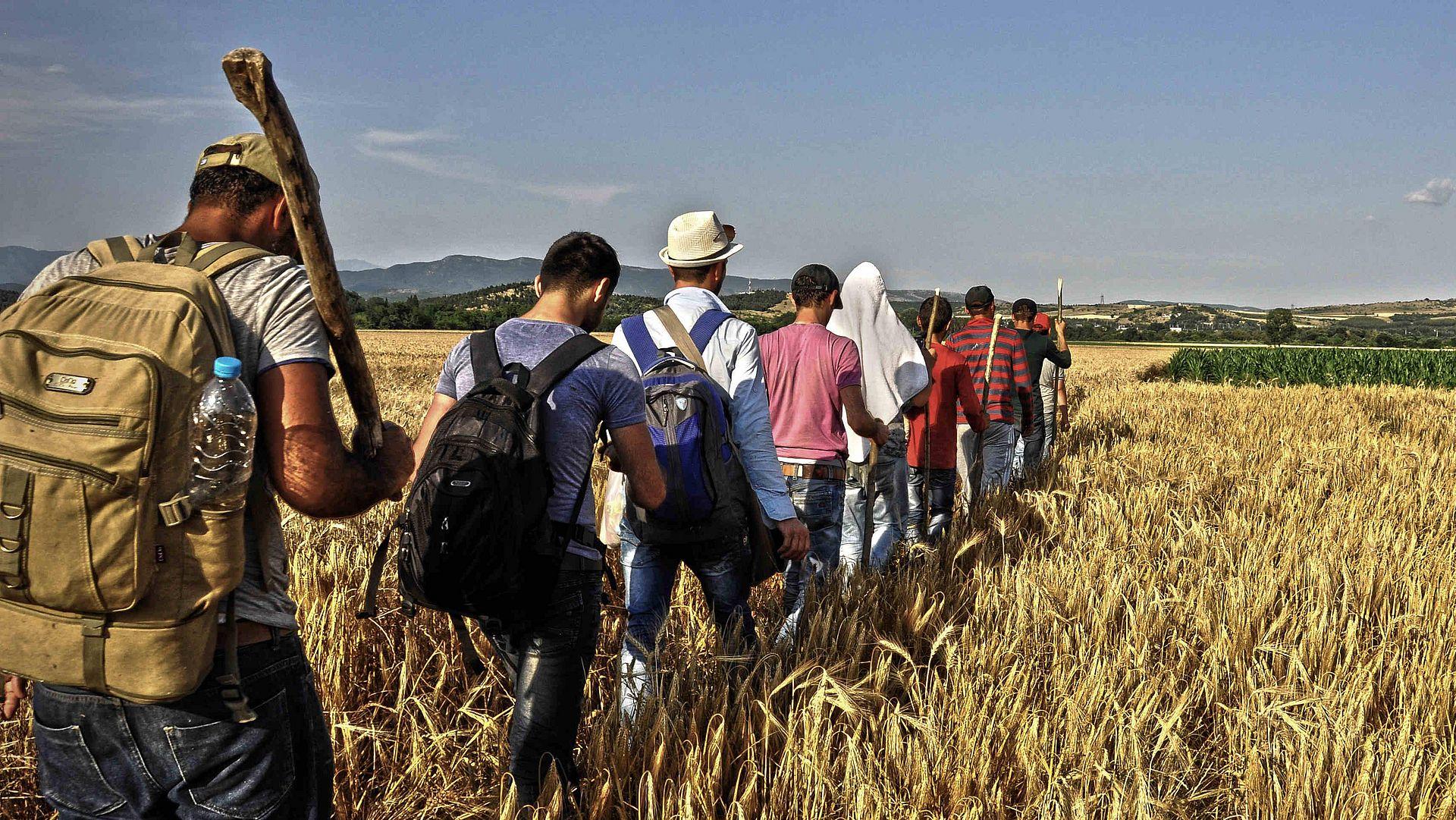Migration & Flucht › Für das Recht zu gehen & zu bleiben ›› medico  international