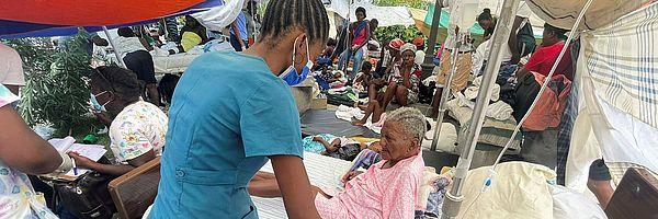 Haiti Erdbeben Medizinische Hilfe